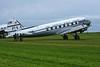 Douglas C-47B 45-1108 as Pan American World Airways Clipper Tabitha May NC33611, Carpiquet airport, Caen, 7 June 2019 1.  Operated by PMDG Flight Ops of Alexandria, Virginia.