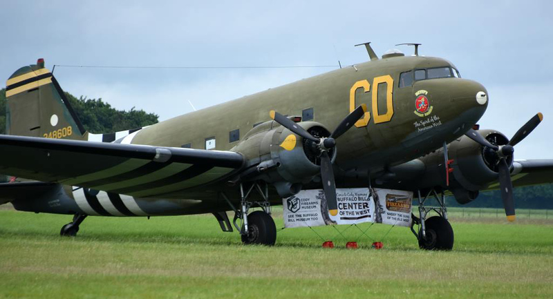 Douglas C-47B CD 43-48608 (N47SJ) Betsy's Biscuit Bomber / The Spirit of the American West, Carpiquet aiport, Caen, 7 June 2019 2.