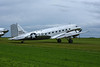 Douglas DC-3A 256630 / N18121, Carpiquet airport, Caen 7 June 2019 1.  The 119th DC-3 built, in 1937.