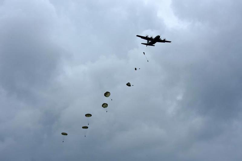RAF C-130J Hercules ZH888, Sannerville, east of Caen, France, 5 June 2019 1 - 1413.