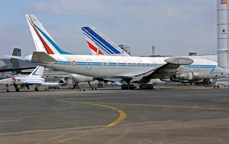 Douglas DC-8 F-RAFE, Musee de l'Air et de l'Espace, Le Bourget, Paris, 6 February 2015 3.