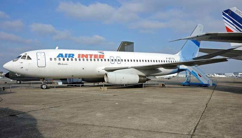 Air Inter Dassault Mercure F-BTTD, Musee de l'Air et de l'Espace, Le Bourget, Paris, 6 February 2015