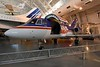 Federal Express Dassault Falcon 20 N8FE Wendy, Smithsonian Udvar-Hazy air and space museum, Chantilly, Virginia, 14 May 2017.  The first of 33 Falcon 20s bought in 1973 by FedEx for the overnight delivery of high priority packages.   It is named for the daughter of the FedEx founder.
