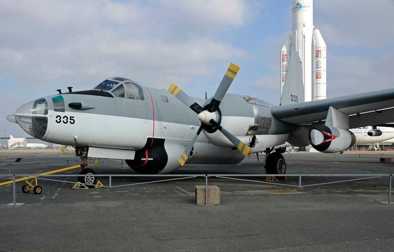 Lockheed P-2V Neptune 335, Musee de l'Air et de l'Espace, Le Bourget, Paris, 6 February 2015.