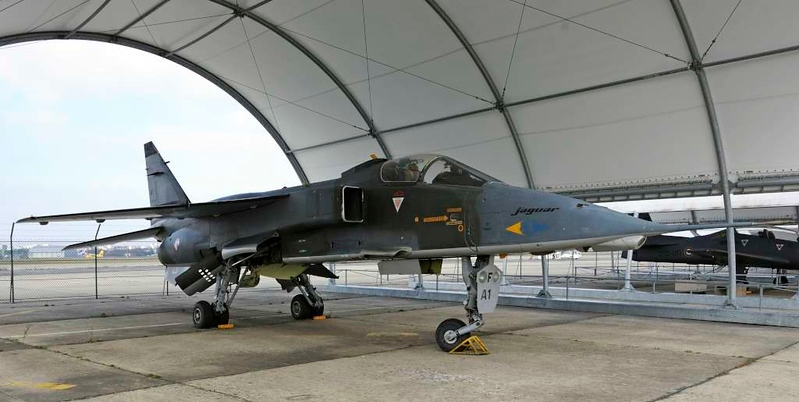 SEPECAT Jaguar A1, Musee de l'Air et de l'Espace, Le Bourget, Paris, 6 February 2015