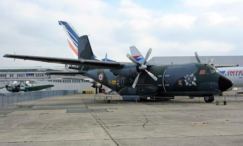 Transall C160 61-MM [F-RAMM], Musee de l'Air et de l'Espace, Le Bourget, Paris, 6 February 2015 1.