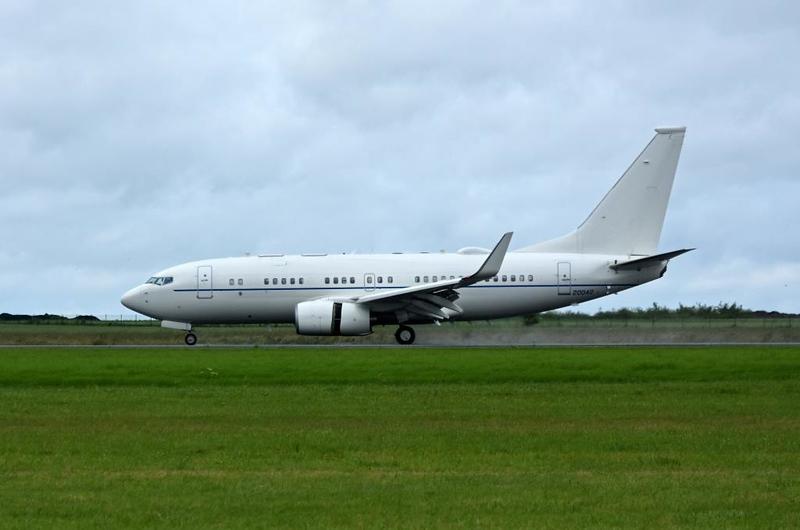USAF Boeing C-40B 02-0042, Carpiquet airport, Caen, 7 June 2019 1 - 1059.