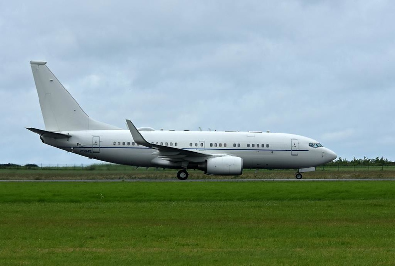 USAF Boeing C-40B 02-0042, Carpiquet airport, Caen, 7 June 2019 2.