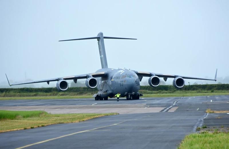 USAF Boeing C-17A Globemaster III 77173, Carpiquet airport, Caen, 7 June 2019 2.