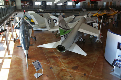 ex-USN Chance Vought SSM-N-9 Regulus II supersonic cruise missile, GM-2048 / MQM-15A & LTV A-7B Corsair, 154502 - 09/03/19