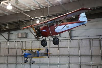 Williams 'Texas Temple' Sportsman monoplane, N987N & Meyer's Special 'Little Toot' biplane, N217J - 09/03/19