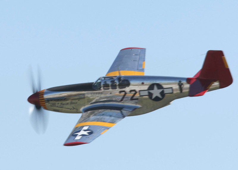 """ INA The MACON BELLE ""    <br /> P-51 Mustang 42-103831 	Type: 	P-51C-10NT<br /> Serial #: 	42-103831<br /> Registry: 	N1204<br /> Owner: 	Kermit Weeks<br /> Base: 	Tamiami FL<br /> Status: 	Flying"