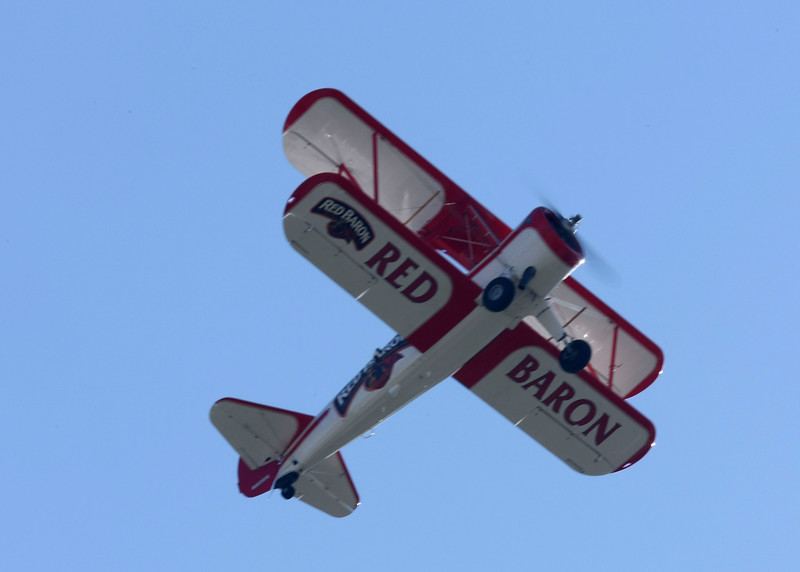 Red Baron Pizza Squadron<br /> Boeing PT-17 Kaydet