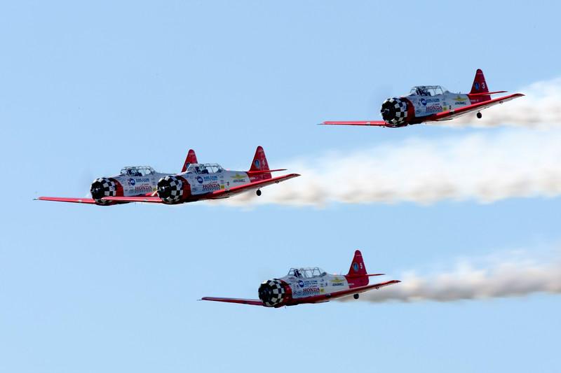 Aeroshell T6 Demonstration Team