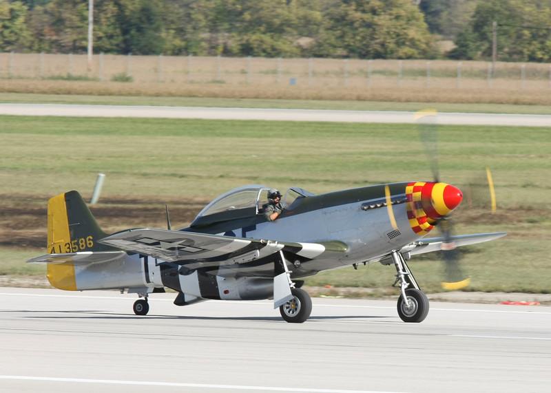 """ Hurry Home Honey ""    <br /> P-51 Mustang 44-73206 Type: P-51D-25NA<br /> Serial #: 44-73206<br /> Registry: N3751D<br /> Owner: Joe Richardson<br /> Base:  <br /> Status: Flying"