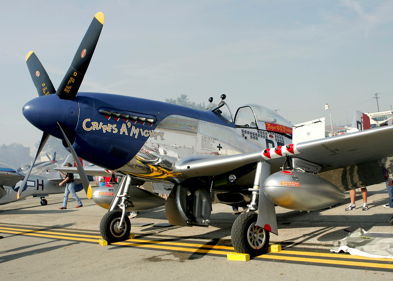 """"""" Cripes a Mighty """"    <br /> P-51 Mustang 44-74813 Type: P-51D-30NA<br /> Serial #: 44-74813<br /> Registry: N251KW<br /> Owner: Sale<br /> Base:  <br /> Status: Flying"""