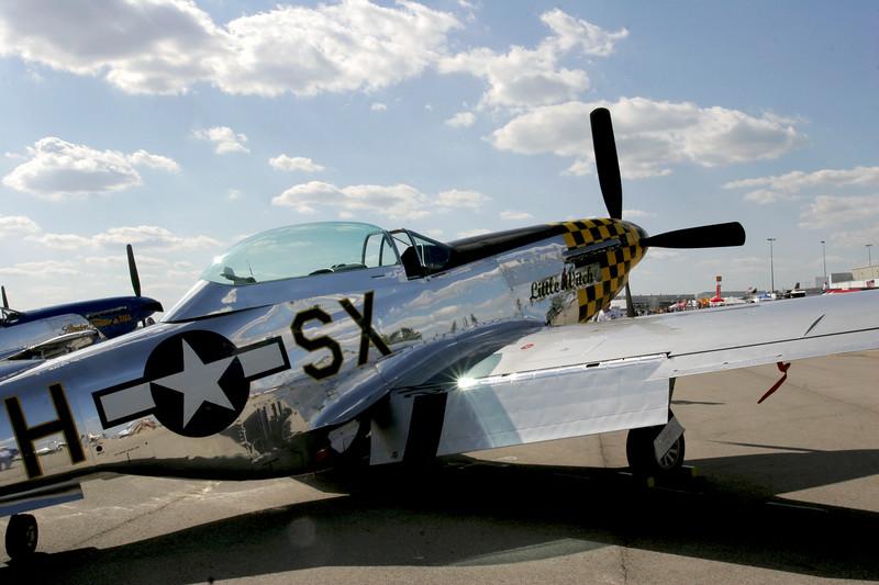 """ Little Witch ""    <br /> P-51 Mustang 44-74497 Type: P-51D-30NA<br /> Serial #: 44-74497<br /> Registry: N6320T<br /> Owner: Bob Jepson<br /> Base: Savannah GA<br /> Status: Flying"