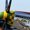 """ Millie G ""    <br /> P-51 Mustang 44-14985 	Type: 	P-51D-10NA<br /> Serial #: 	44-14985<br /> Registry: 	N551W<br /> Owner: 	William Wiemann<br /> Base: 	Fargo ND<br /> Status: 	Flying"