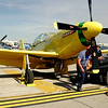 """ Ole' Yeller ""<br /> P-51 Mustang 44-74739 Type: P-51D-30NA<br /> Serial #: 44-74739<br /> Registry: N51RH<br /> Owner: John Bagley<br /> Base: Rexburg ID<br /> Status: Flying"