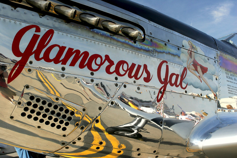 Glamorous Gal  P-51