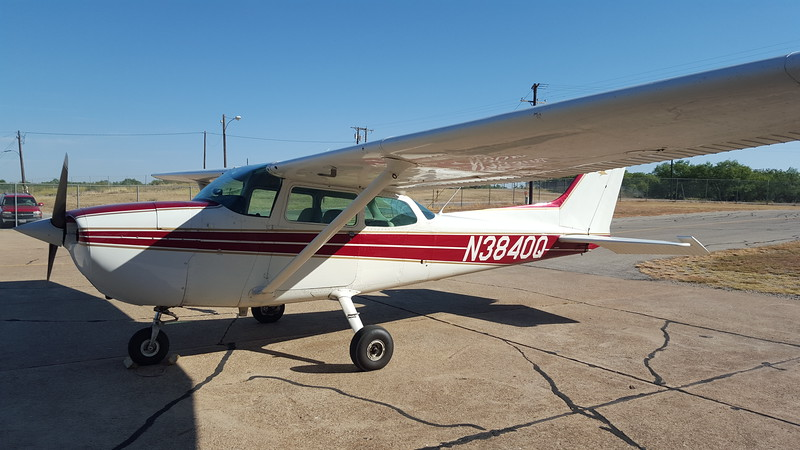 The airplane I solo'd in.