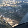 Flying over the top of Dallas Love Field
