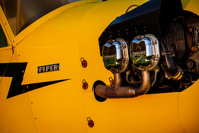 Piper Cub Closeup