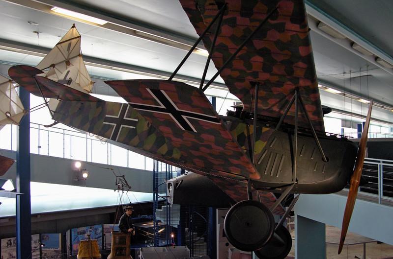 Fokker D.VII 679/18, Musee de l'air et de l'espace, Le Bourget, Paris, 10 May 2005 2.
