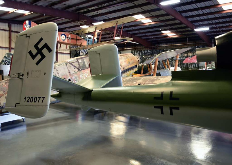Heinkel He 162A 120077, Planes of Fame Museum, Chino, California, 3 May 2019 3.