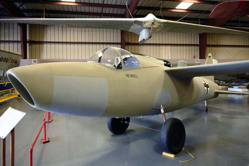 Replica Heinkel He 178, Planes of Fame Museum, Chino, California, 3 May 2019 3.