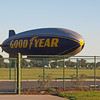 Goodyear Blimp N10A touchdown - 12 Feb 2011
