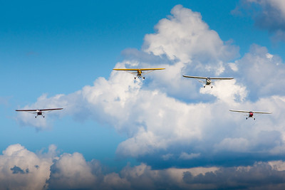 Foursome Flyby
