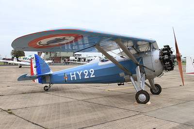 Morane Saulnier MS.317, 351 / HY-22 (G-MOSA), on static display - 26/09/15.