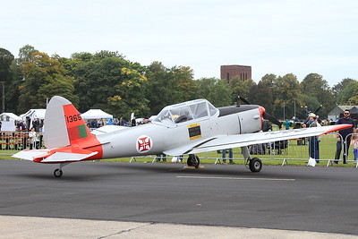 De Havilland Canada DHC-1 Chipmunk, 1365 (G-DHPM), on static display - 26/09/15.