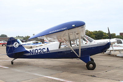 Aviat A-1B Husky, N102CA, on static display - 26/09/15.