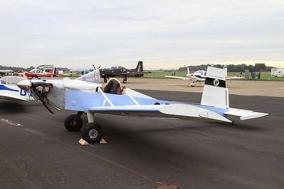 Evans VP-1 Volksplane, G-BVAM, on static display - 26/09/15.