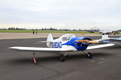 Taylor JT.1 Monoplane, G-BDAD, on static display - 26/09/15.