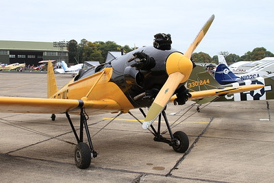 Ryan PT-22 Recruit (ST3KR), G-RLWG, on static display - 26/09/15.