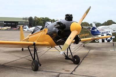 Ryan PT-22 Recruit (ST3KR), G-RLWG, on static display - 26/09/15.