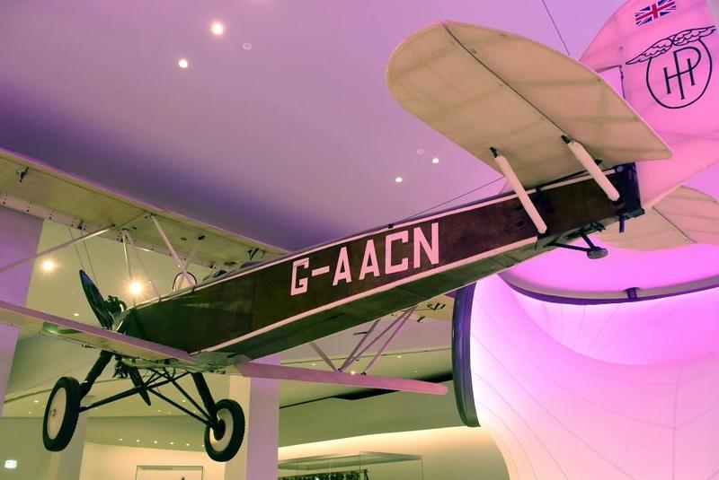 Handley Page HP 39 G-AACN 'Gungunc', Science Museum (Winton Gallery), London, 11 September 2018 3.