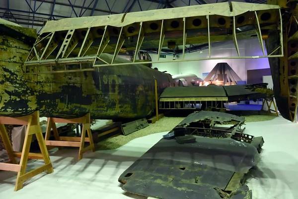 Handley Page Halifax II W1048, RAF Museum, Hendon, 10 September 2015 4