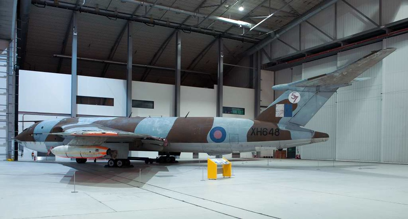 Handley Page Victor B1A XH648, Imperial War Museum, Duxford, 31 December 2012.  The only B1 bomber to survive.