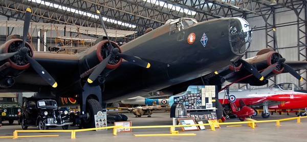 Handley Page Halifax II, Yorkshire Air Museum, Elvington, 28 September 2007 2.  The starboard side of the aircraft seen here is painted to represent NP763 / H7-N of 346 (Free French) Squadron, RAF, who operated Halifaxes from Elvington.