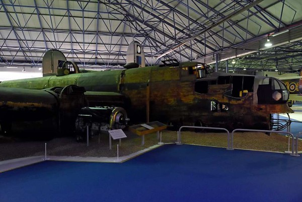 Handley Page Halifax II W1048, RAF Museum, Hendon, 10 September 2015 2