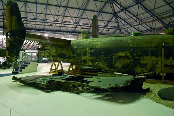 Handley Page Halifax II W1048, RAF Museum, Hendon, 10 September 2015 3
