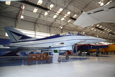 BAe EAP Demonstrator (aka Typhoon prototype), ZF534, on display, RAF Museum, Cosford - 19/04/17.