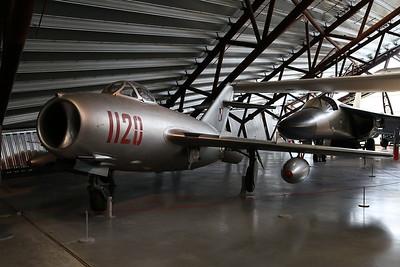 ex-Polish Air Force Mikoyan-Gurevich MiG-15bis (Lim-2), 1120, on display, RAF Museum, Cosford - 19/04/17.