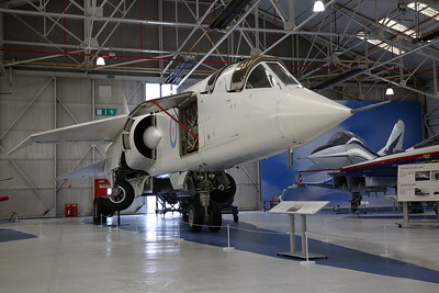 BAC TSR-2 (Tactical strike/reconnaissance prototype), XR220, on display, RAF Museum, Cosford - 19/04/17.