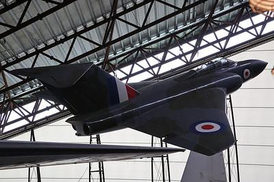 ex-RAF Gloster Javelin FAW.1, XA564, on display, RAF Museum, Cosford - 19/04/17.