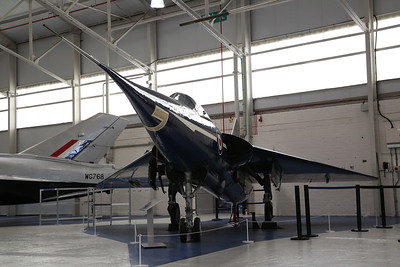 Fairey Delta FD2 (Supersonic research aircraft), WG777, on display, RAF Museum, Cosford - 19/04/17.